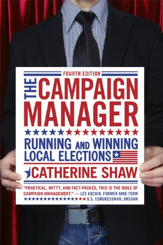Campaign Manager Running and Winning Local Elections 4th 2010 edition cover