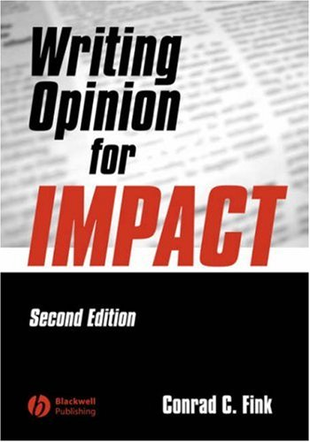 Writing Opinion for Impact  2nd 2004 (Revised) edition cover