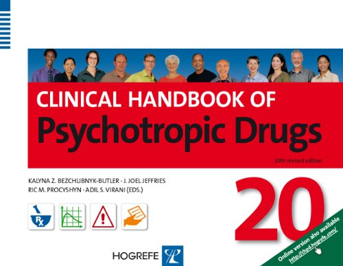Clinical Handbook of Psychotropic Drugs  20th 2013 edition cover