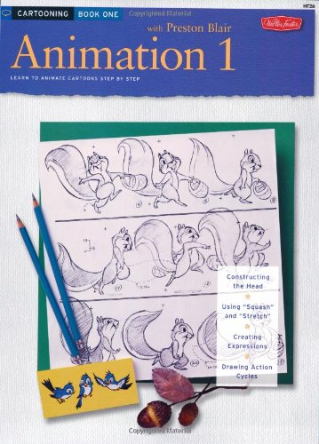 Animation 1 Learn to Animate Cartoons Step by Step  1986 edition cover