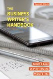 The Business Writer's Handbook:   2015 9781457675515 Front Cover