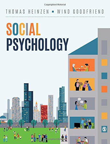 Social Psychology   2019 9781506357515 Front Cover
