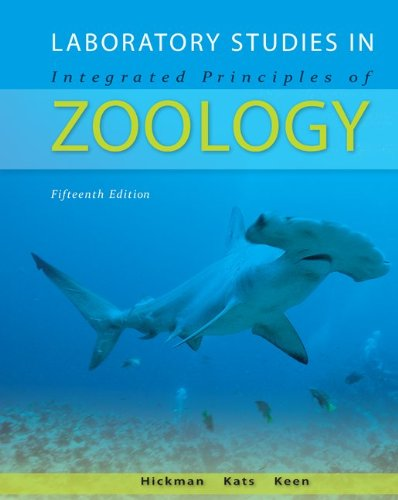 Laboratory Studies in Integrated Principles of Zoology  15th 2011 edition cover