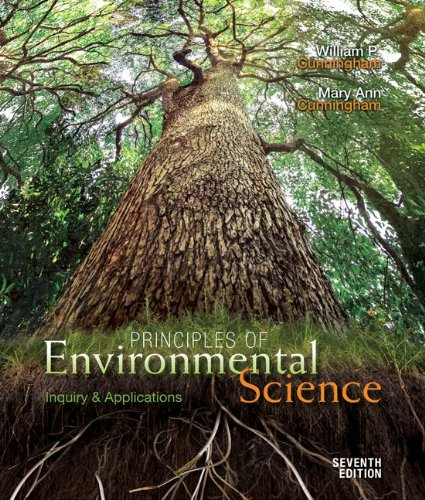 Principles of Environmental Science Inquiry and Applications 7th 2013 9780073532516 Front Cover