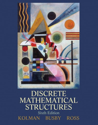 Discrete Mathematical Structures  6th 2009 edition cover