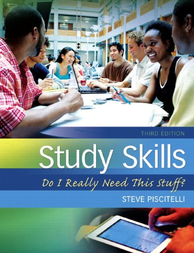 Study Skills Do I Really Need This Stuff? 3rd 2013 (Revised) 9780132789516 Front Cover