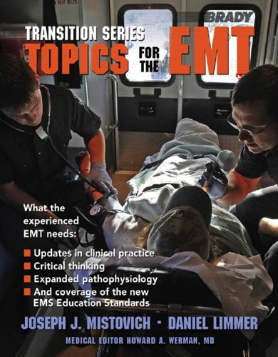 Topics for the EMT   2012 edition cover