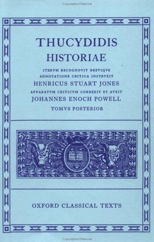 Thucydidis Historiae  2nd (Revised) edition cover