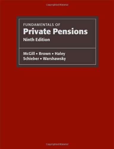 Fundamentals of Private Pensions  9th 2009 edition cover