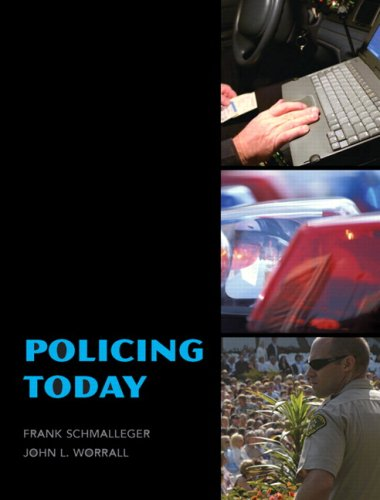 Policing Today   2010 edition cover