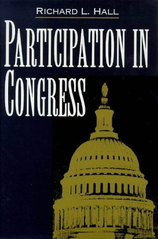 Participation in Congress   1998 9780300076516 Front Cover