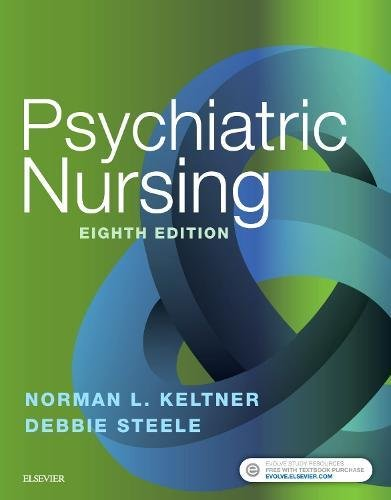 Psychiatric Nursing  8th 2019 9780323479516 Front Cover