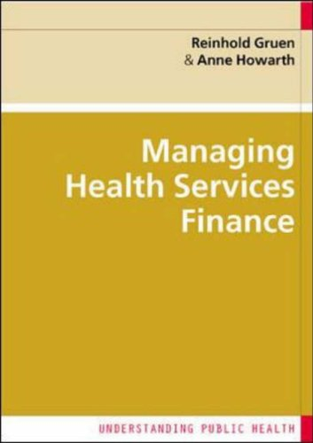 Financial Management in Health Services   2005 edition cover