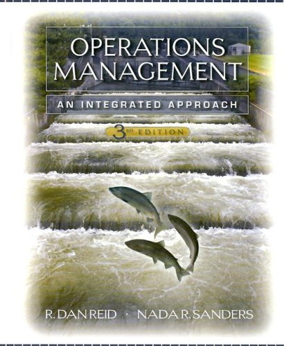 Operations Management An Integrated Approach 3rd 2007 edition cover