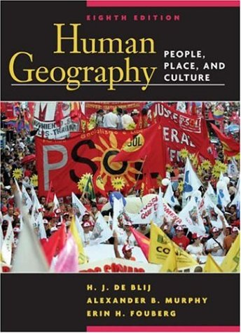 Human Geography People, Place, and Culture 8th 2007 (Revised) edition cover