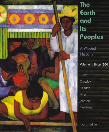 Earth and Its People A Global History 4th 2008 edition cover