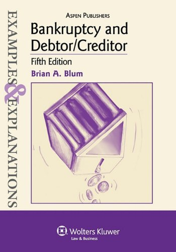 Bankruptcy and Debtor/Creditor  5th 2010 (Student Manual, Study Guide, etc.) edition cover