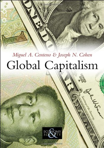 Global Capitalism A Sociological Perspective  2010 edition cover