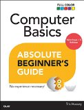 Computer Basics Absolute Beginner's Guide: Windows 10 Edition  2015 edition cover