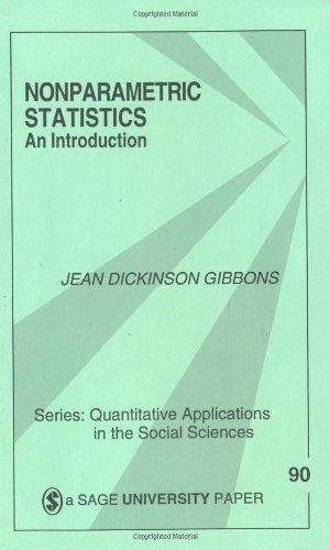 Nonparametric Statistics An Introduction  1992 edition cover
