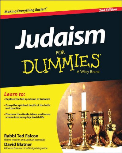 Judaism for Dummies�  2nd 2013 edition cover