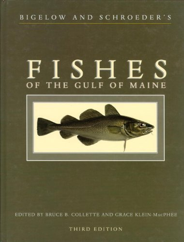 Fishes of the Gulf of Maine  3rd 2002 edition cover