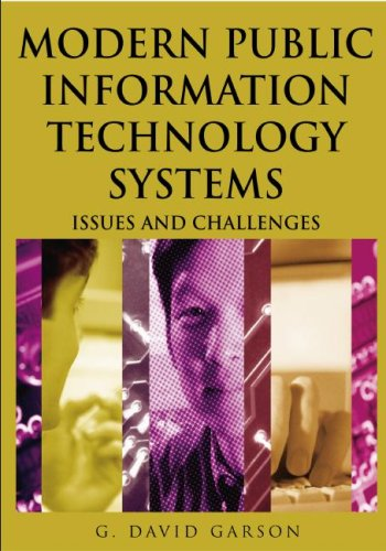 Modern Public Information Technology Systems Issues and Challenges  2007 9781599040516 Front Cover