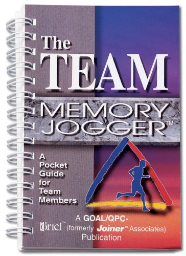 Team Memory Jogger A Pocket Guide for Team Members  1995 edition cover