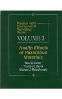 Health Effects of Hazardous Materials   1996 edition cover