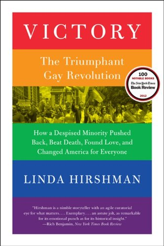 Victory The Triumphant Gay Revolution  2013 edition cover