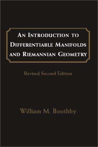 Introduction to Differentiable Manifolds and Riemannian Geometry  2nd 2003 (Revised) 9780121160517 Front Cover