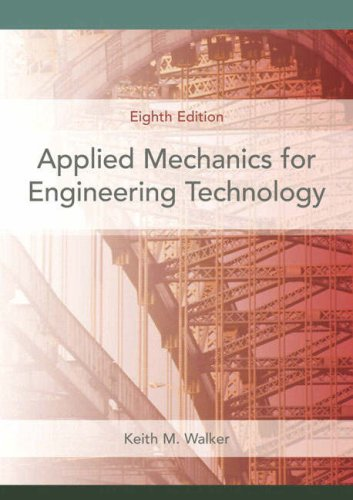 Applied Mechanics for Engineering Technology  8th 2008 edition cover