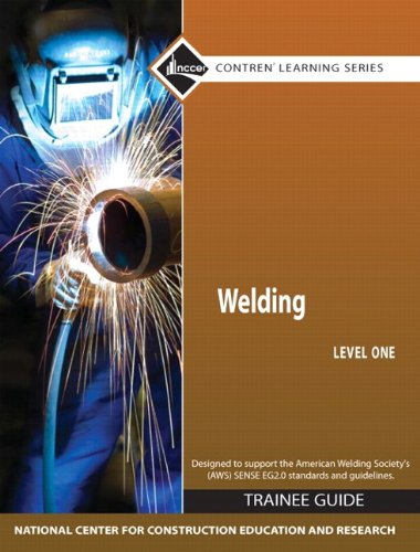 Welding, Level 1  4th 2009 edition cover