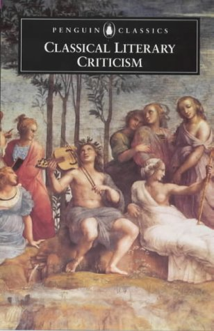 Classical Literary Criticism  2nd 2000 edition cover