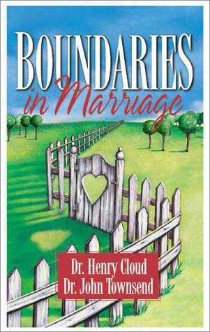 Boundaries in Marriage   1999 edition cover