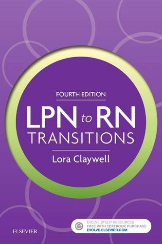 LPN to RN Transitions  4th 2018 9780323401517 Front Cover