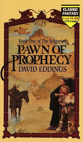 Pawn of Prophecy   1982 9780345335517 Front Cover