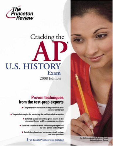 U. S. History Exam 2008   2008 9780375428517 Front Cover
