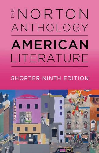 The Norton Anthology of American Literature:   2017 9780393264517 Front Cover