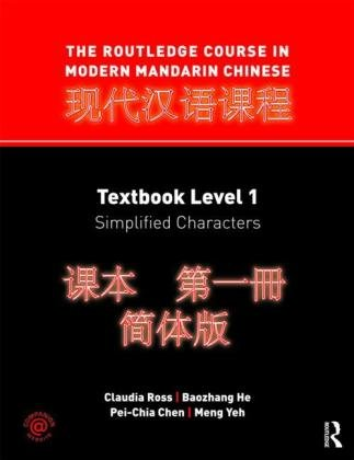 Routledge Course in Modern Mandarin Chinese Simplified Characters  2011 edition cover