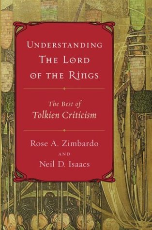 Understanding the Lord of the Rings The Best of Tolkien Criticism  2004 edition cover