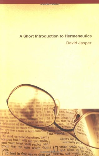 Short Introduction to Hermeneutics   2004 edition cover