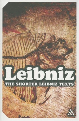 Leibniz The Shorter Leibniz Texts  2006 edition cover