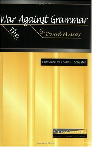 War Against Grammar   2003 edition cover