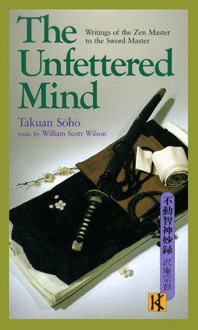 Unfettered Mind Writings of the Zen Master to the Sword Master  1986 edition cover