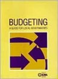 Budgeting A Guide for Local Governments N/A edition cover