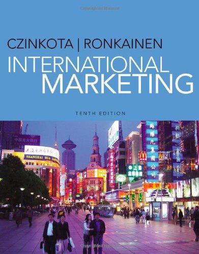 International Marketing  10th 2013 edition cover