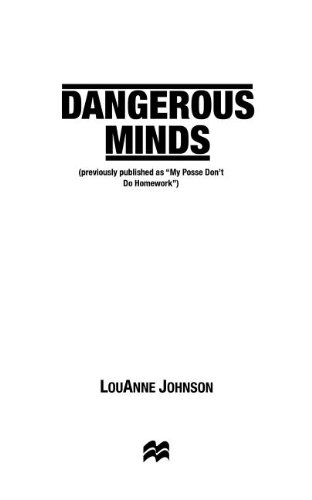 Dangerous Minds  N/A edition cover