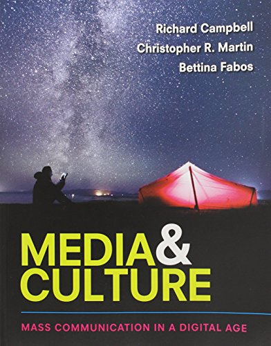 Media and Culture An Introduction to Mass Communication 11th 2017 9781319058517 Front Cover