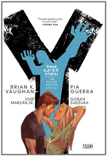 Y: the Last Man: Deluxe Edition Book Five   2008 9781401230517 Front Cover